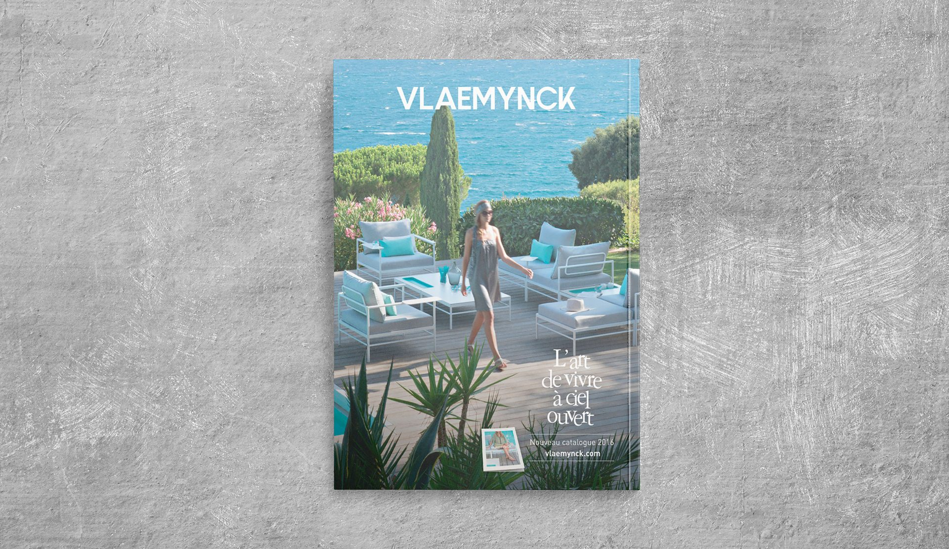 Édition / graphisme / shooting pour le magazine / catalogue album grand public de Vlaemynck